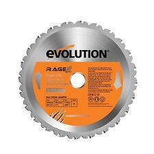 Evolution Rage Multipurpose TCT Blade 210 mm