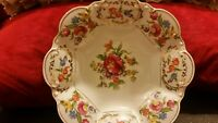 NORITAKE HAND PAINTED FLORAL GOLD BOWL