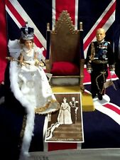PEGGY NISBET TOWER TREASURES #207/500 Coronation Chair, Queen Elizabeth, Philip