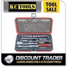 "KC Tools 26 Piece 1/4"" Square Drive KC Classic Series Socket Set - A13225"