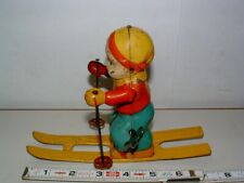 * 1950s CHEIN TIN-LITHO WIND-UP SKYBOY TOY 7 1/2