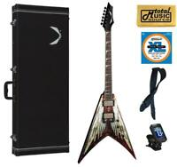 Dean Dave Mustaine V Angel of Deth Electric Guitar FREE Strings Tuner Strap ,VMN