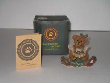 Boyds Bear ~ Bailey the Baker…with Sweetie Pie w/Original Box & Coa