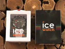 ICE WATCH CARBON WHITE BLACK (XL) **NEVER WORN**  CA-CH-WE-BB-S-15
