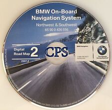 For  BMW Mini Range Rover Navigation CD 2 # 556 Map Update © 2007 ID MT OR WA WY
