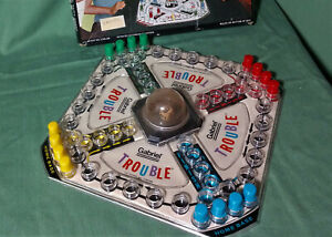 Vintage 1965 Trouble Board Game complete