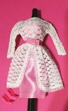 Japanese Original Satin Version Vtg Barbie #1658 Garden Wedding 1966 complete