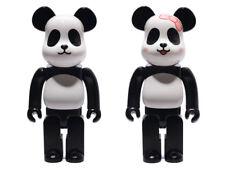 NEW MEDICOM Bearbrick 400% MILK PANDA Set Limited Bearbrick Rare