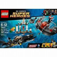 Lego Super Heroes Black Manta Deep Sea Strike 76027 NEW
