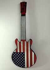 USA STARS & STRIPES GUITAR MIRROR American flag BRAND NEW! FREE SHIPPING