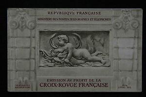 La croix Rouge timbres 9 pièces / stamps La Croix rouge française 9 Pieces