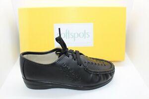 SHOES/FOOTWEAR - Softspots Bonnie lace up shoe black