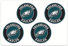 (4) Philadelphia Eagles NFL Decals / Yeti Stickers *Free Shipping