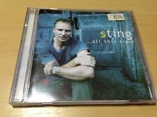 STING - ...ALL THIS TIME CD (ACC) FRAGILE, MAD ABOUT YOU, ALL THIS TIME, ROXANNE