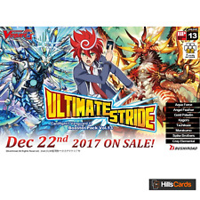 Cardfight Vanguard Ultimate Stride G-BT13 Booster Box of 16 Packs - TCG