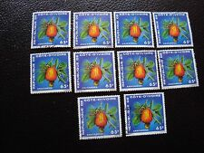 COTE D IVOIRE - timbre yvert/tellier n° 408 x10 obl (A27) stamp (Z)