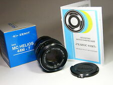 Helios-44m-7 2/58mm lens for micro 4/3 Lumix BMPCC.Year of production:1993-1995