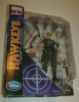 Marvel HAWKEYE DIAMOND SELECT LEGEND FIGURE & BASE AVENGERS MOVIE DISNEY