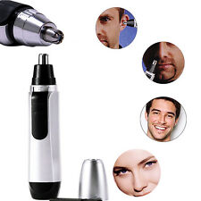 Unisex Mini Washable Nose Hair Trimmer Eyebrow Shaver Clippers Health Gifts