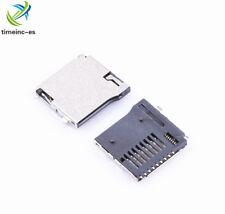 10PCS NEW TransFlash TF Micro Memory SD Card Self-eject Socket Plug Adapter