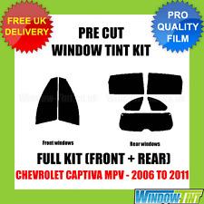 Chevrolet CAPTIVA MPV 2006-2011 Full Pre Cut Window Tint Kit