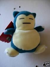 "Pokemon Hasbro Snorlax 6"" Bean Bag Ser 1 Plush New Uncirculated frm orig carton"