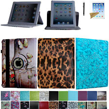 Case for 2021 iPad 10.2 9th Generation A2602 A2603 A2604 Rotating Smart Cover