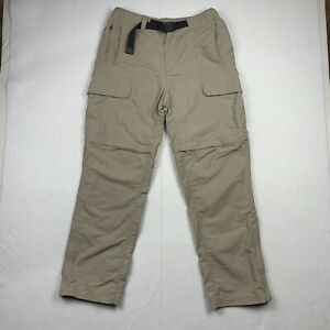 The North Face Mens M Cargo Pants Removable Leg Buckle