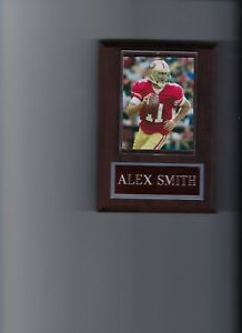 ALEX SMITH PLAQUE SAN FRANCISCO 49ers FORTY NINERS FOOTBALL NFL