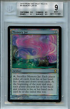 MTG Memory Jar BGS 9.0 (9) Mint  From the Vault Relics Magic card Amricons 1061