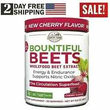 Humann SuperBeets - CHERRY SuperFood Beets Circulation Booster 30 Servings