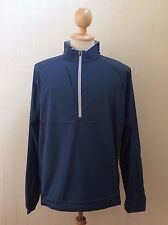 New Peter Millar Wind E4 Performance Mens Jacket Pullover Size L