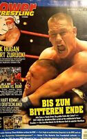 Power Wrestling Dezember 2009 WWE WWF TNA + 2 Poster (Survivor Series, Rey)
