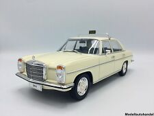 MERCEDES 220 D/8 trait 8 (w115) TAXI 1973-Beige - 1:18 McG