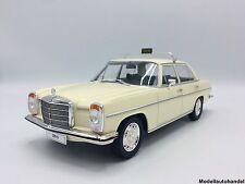 Mercedes 220 D /8 Strich 8 (W115) Taxi 1973 -  beige - 1:18 MCG  >> NEUHEIT <<