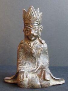 Rare Figure 'King Of Bagan ' Bronze, Burma