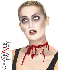 Halloween Scar Barbed Wire Slash Neck FX Latex Make Up Fancy Dress Smiffys