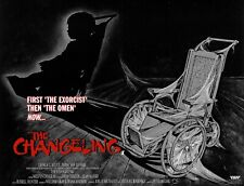 "THE CHANGELING George C Scott repro UK quad 30x40"" poster FREE P&P 80s horror"