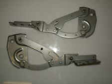PEUGEOT 406 COUPE 2003 FRONT LEFT RIGHT BONNET HOOD HINGES HINGE GREY OEM