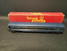 Tri-Ang Railways OO R.444  Coach Blue/Yellow with Seats 10724 Exc in box B3