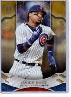 Javier Baez 2019 Topps Tribute 5x7 Gold #38 /10 Cubs