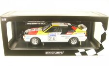 1 18 Minichamps Audi quattro #24 Lombard Rally 1982 Demuth/daniels