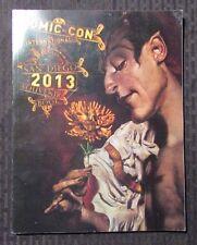 2013 COMIC-CON International Program Souvenir Book VF Dave McKean Sandman Cover
