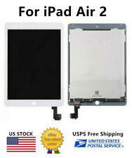 WOW For iPad Air 2 White LCD Screen Touch Digitizer Replacement A1566 A1567