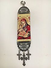 Woven Religious tapestry wall hanging orthodox catholic icon Style 4