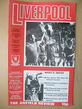 1978 League Division One- LIVERPOOL v IPSWICH TOWN