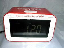 * COCA COLA®  RADIO REVEIL DIGITAL 16 cm x 10,5 cm x 9 cm