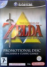 THE LEGEND OF ZELDA COLLECTORS EDITION GAMECUBE GAME PAL