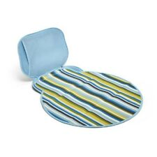 Built NY Diaper Buddy: Changing Pad Baby Blue Stripe