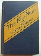 1926 1st Edition Mystery THE KEY MAN By VALENTINE WILLIAMS